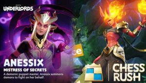 Pilih Game Dota Underlord Atau Chess Rush