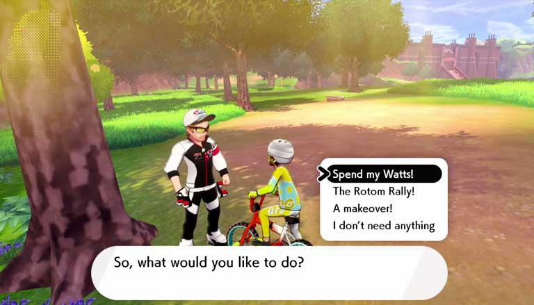 NPC Wild Area Pokemon Sword And Shield