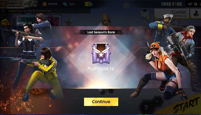 Skin End Season Free Fire