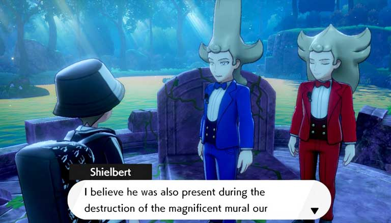 Story Line Pokemon Sword And Shield