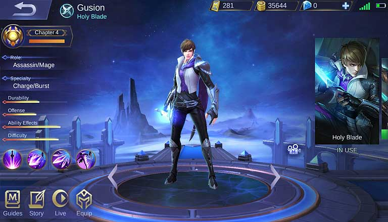 Gusion Mobile Legends