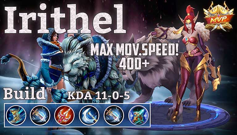 Item Mobile Legends Build Irithel Terbaik Versi 2020