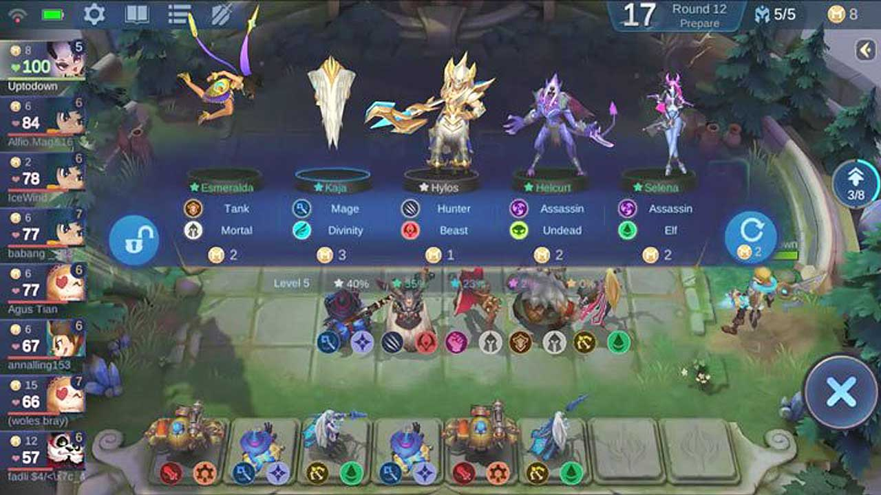 3 Combo Magic Chess Mobile Legends Terbaik