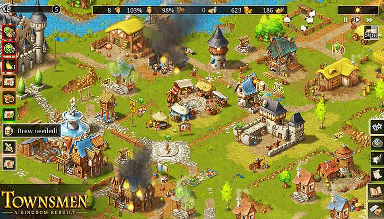 Review Dan Cara Download Townsmen Premium Android